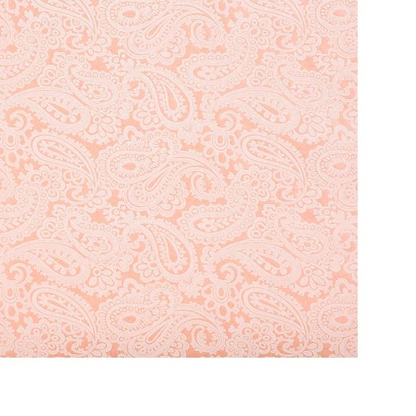 Geschenkpapier Paisley, rosa