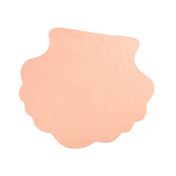 Stranddecke Shells, rosa