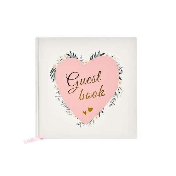 Gästebuch mit 48 Seiten, bunt