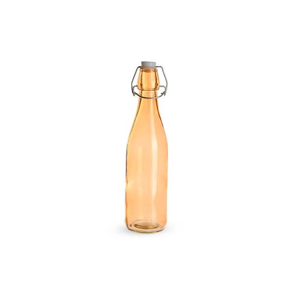 Bügelverschlussflasche, orange