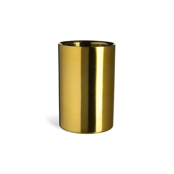 Weinkühler, gold