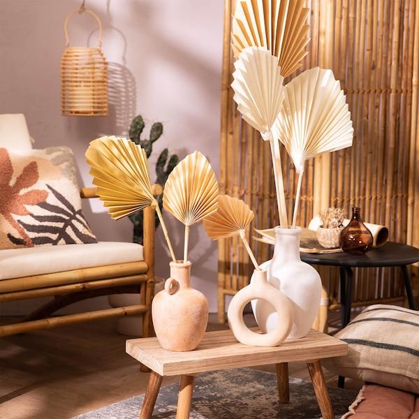 Palmleaves in Keramikvasen