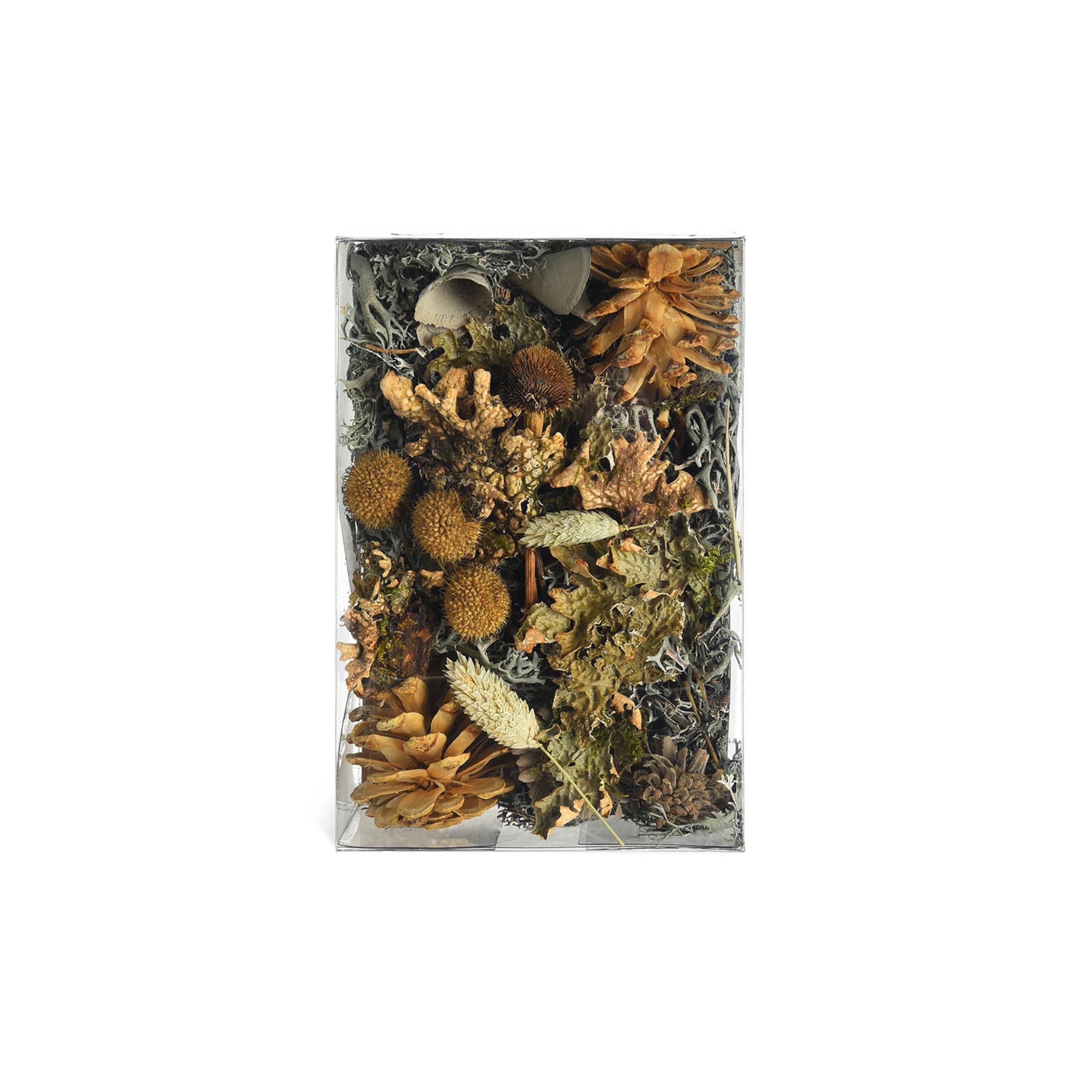 Potpourri Trockenblume, 75g, grün
