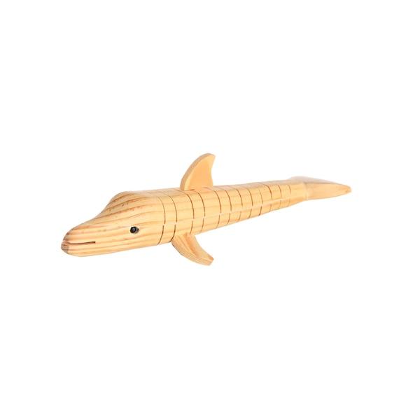 Dekofigur Wirbeltier Delfin, natur