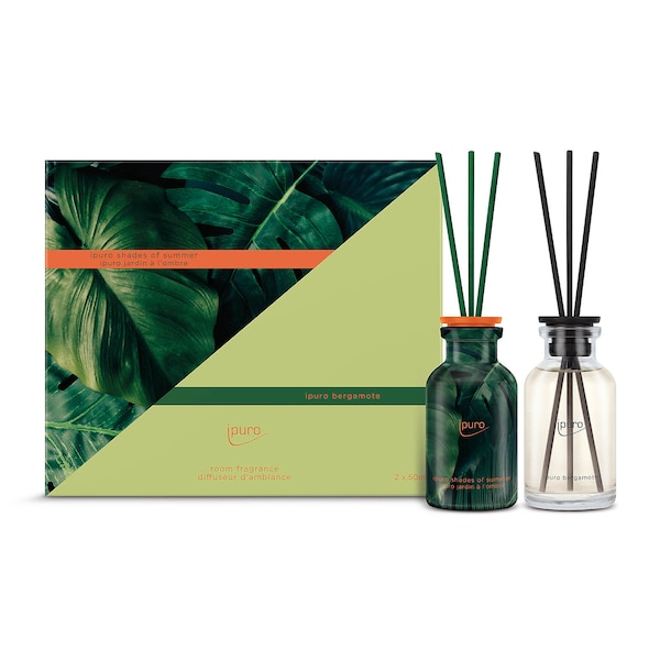 ipuro Raumduft-Set Limited Edition, Shades of Summer & Bergamote, ohne Farbe