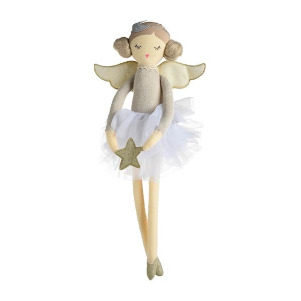 Puppe Engel, weiß