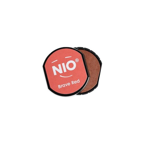 Stempelkissen Nio, rot