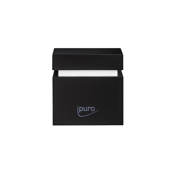 ipuro Air Pearls Plug-In Cube Electric Fragrance Diffuser, schwarz