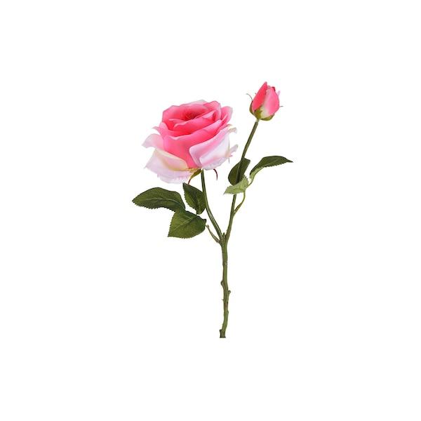 Kunstblume Rose, rosa