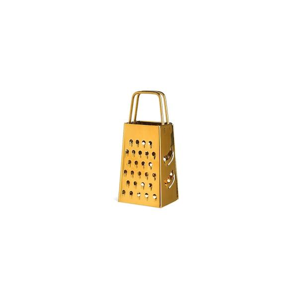 Mini-Reibe , gold
