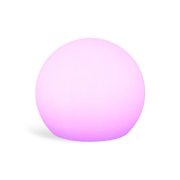 Objet lumineux Boule, blanc