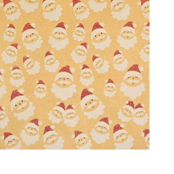 Geschenkpapier Santa, rot