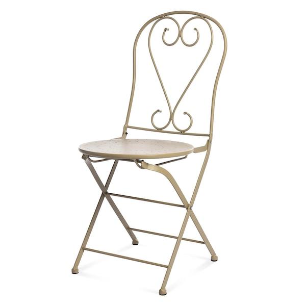 Outdoor-Klappstuhl Romantic, beige
