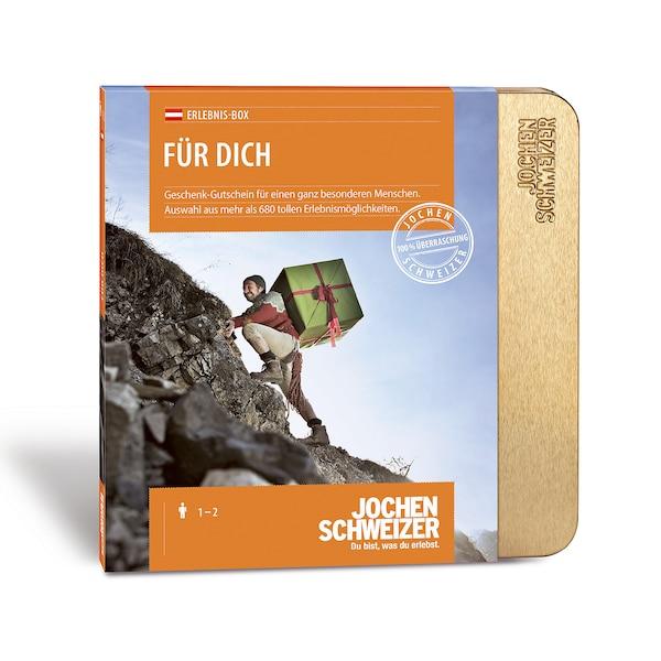 Gutscheinbox Für Dich - nur in Österreich erhältlich, bunt