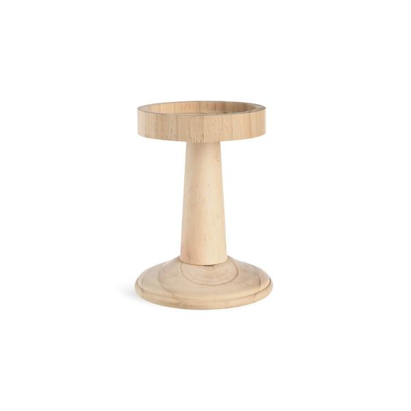 Kerzenhalter Wood, natur