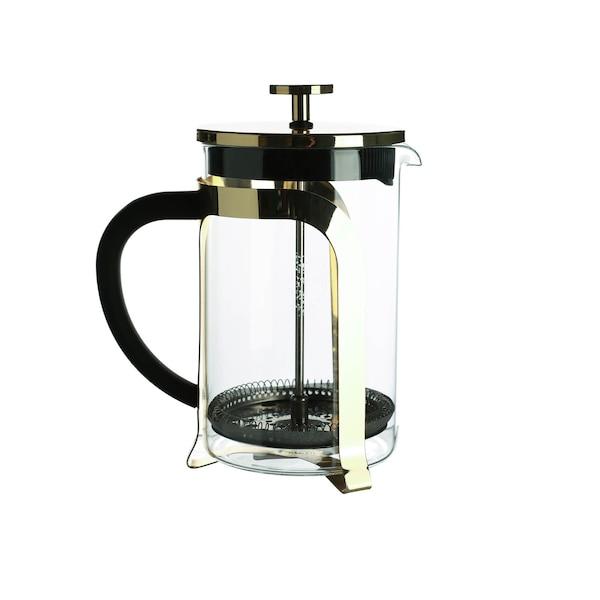 Tee-/Kaffeebereiter, gold