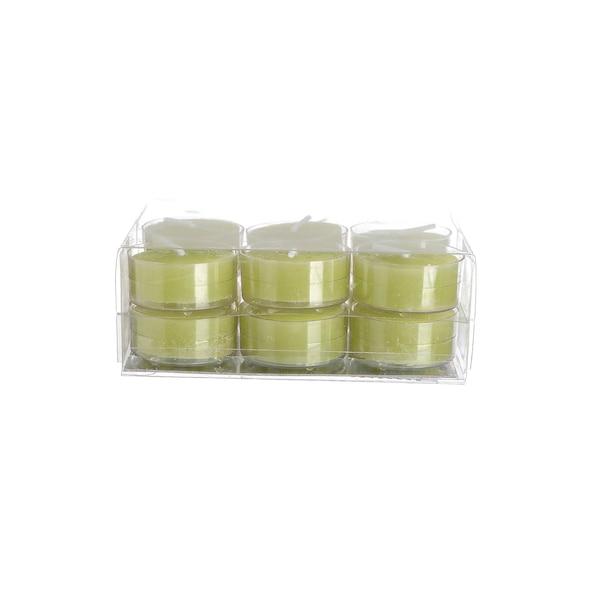 Teelichter, vert tendre