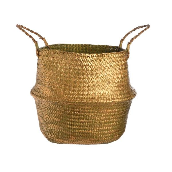 Aufbewahrungskorb Belly, gold