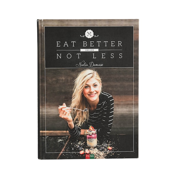 Buch Eat Better, ohne Farbe