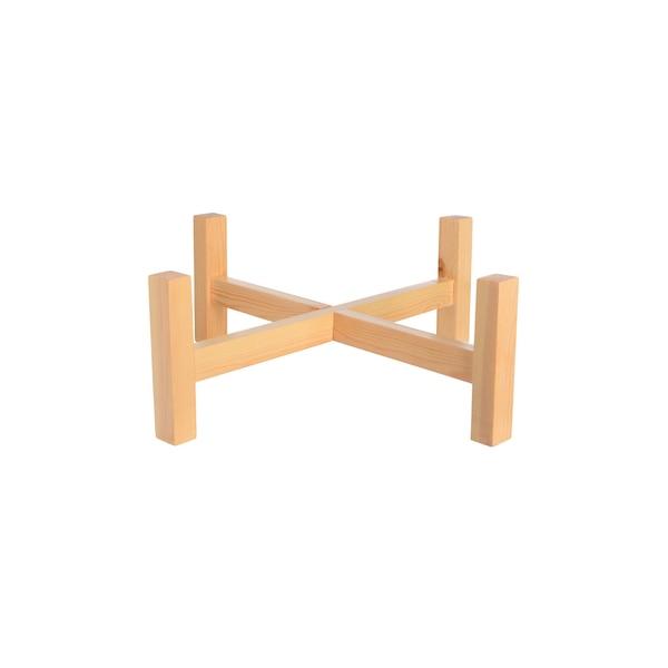 Holzgestell für Schwimmschale, natur