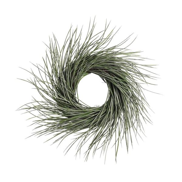 Kranz aus Kunstseegras, grün