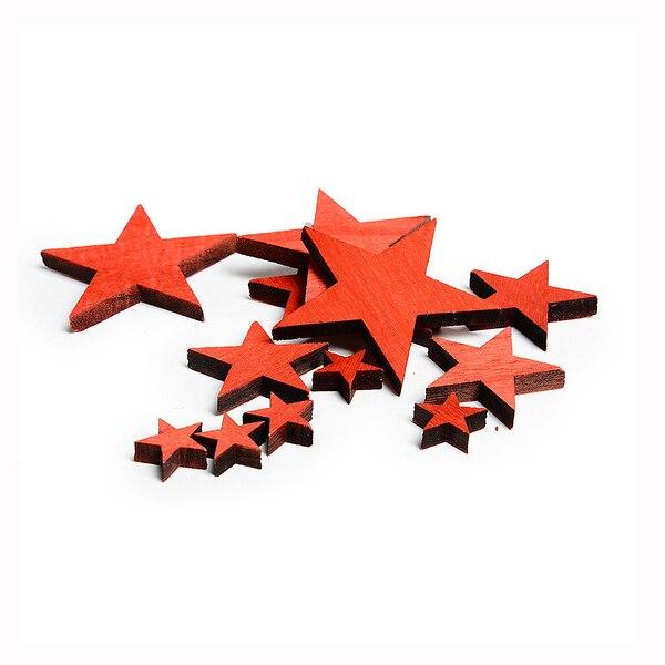 Streuartikel Sterne, rot