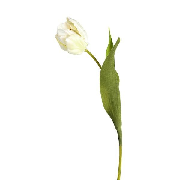 Kunstblume Tulpe, weiß