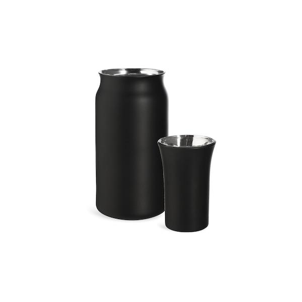 Partyset Gläser Tulum, 2-teilig, schwarz