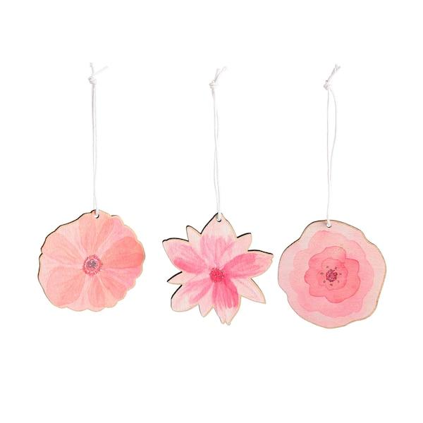 Dekoanhänger Flower, rosa