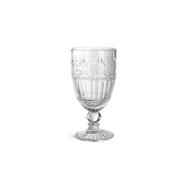 Weinglas Floral, klar