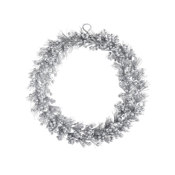 Kunstkranz Silverberry, silber