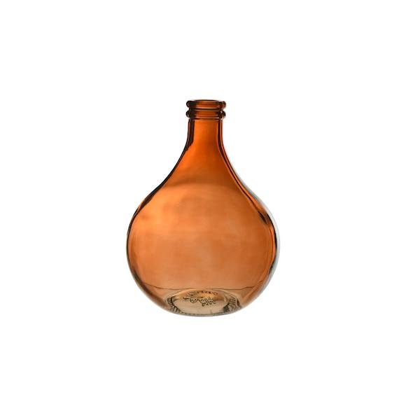 Mini-Ballonvase  aus Glas, braun