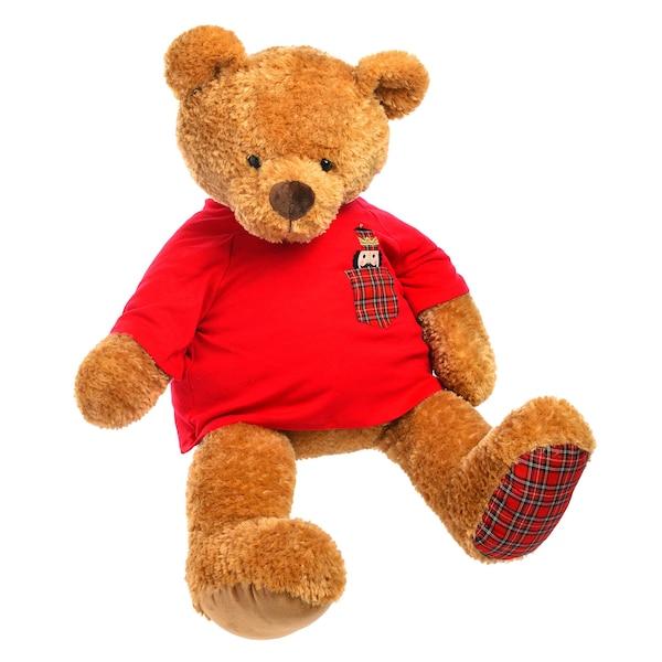 XL-Stofftier Teddy, braun