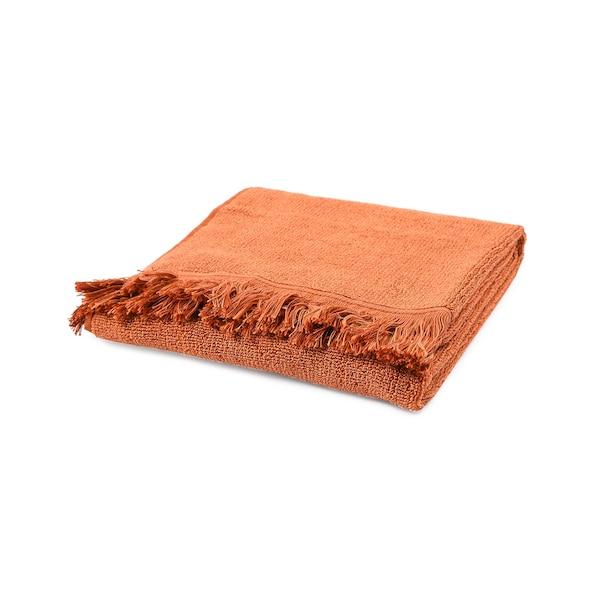 Handtuch Fringes, rost
