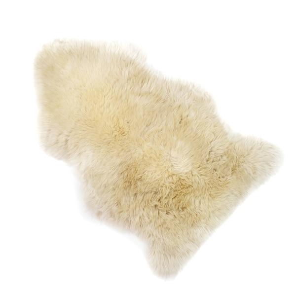 Schaffell, beige clair