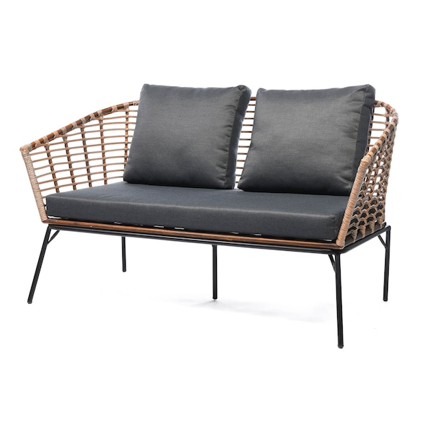 Outdoor-Relaxsofa , taupe