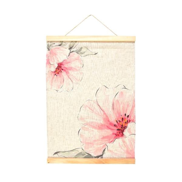 Wandbehang Flowerdream , rosa