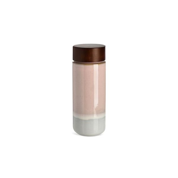 Doppelwandflasche, rosa