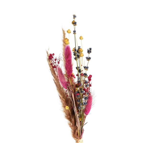 Mini-Strauß, getrocknet, rosa
