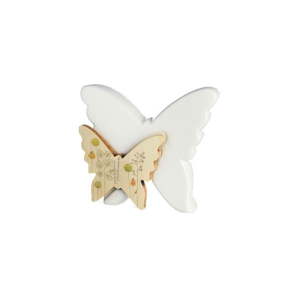 Dekofigur Schmetterling, bunt