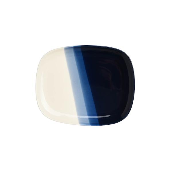 Dessertteller Bluestripe, blau