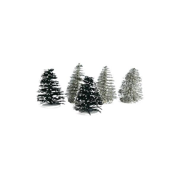 Deko-Baum, beglimmert, silber