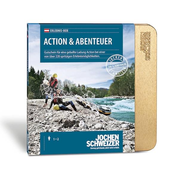Gutscheinbox Action & Abenteuer - nur in Österreich erhältlich, bunt