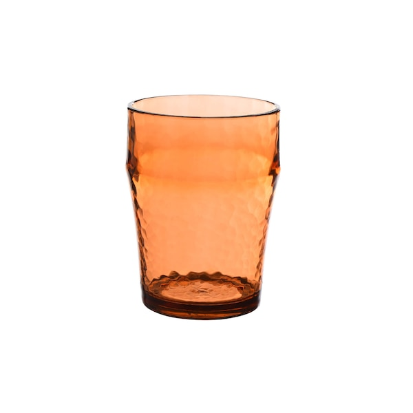 Trinkglas, pfirsich