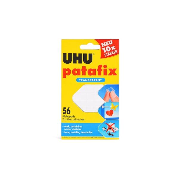UHU Patafix, 56 Klebepads, klar