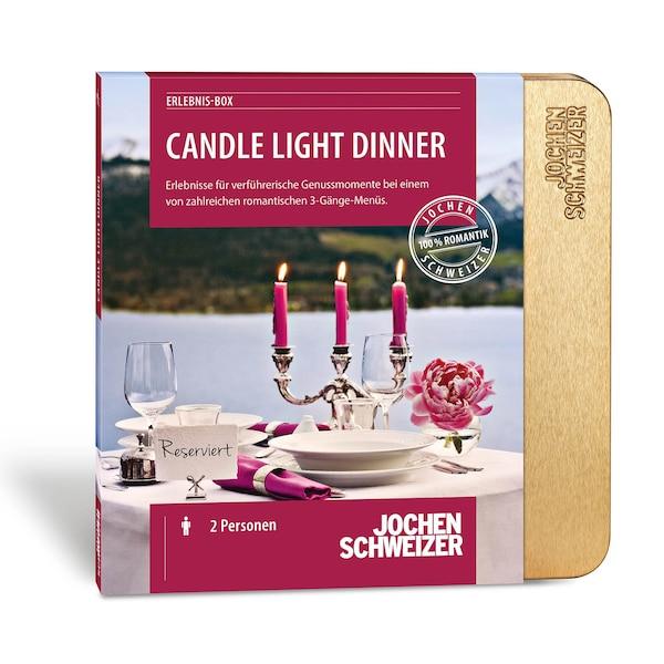 Erlebnis-Box Candle-Light-Dinner für 2, bunt