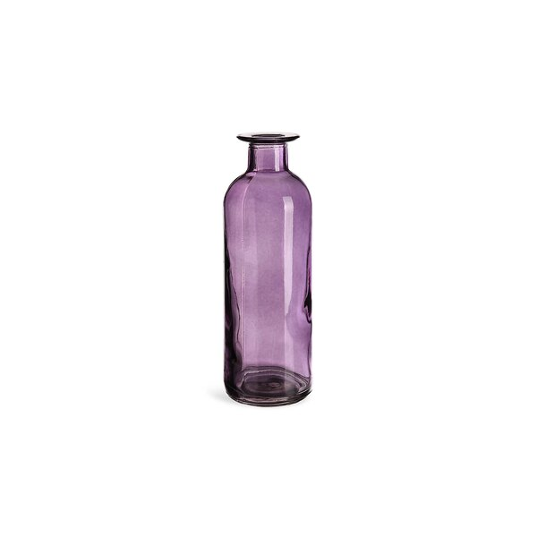 Vase Flasche, lila