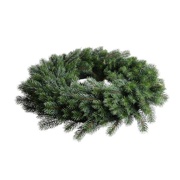 Kranz aus Kunsttanne, grün