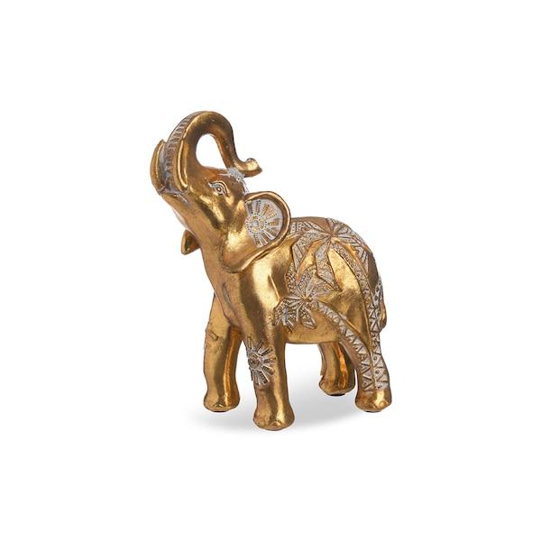 Dekoobjekt Elephant, gold