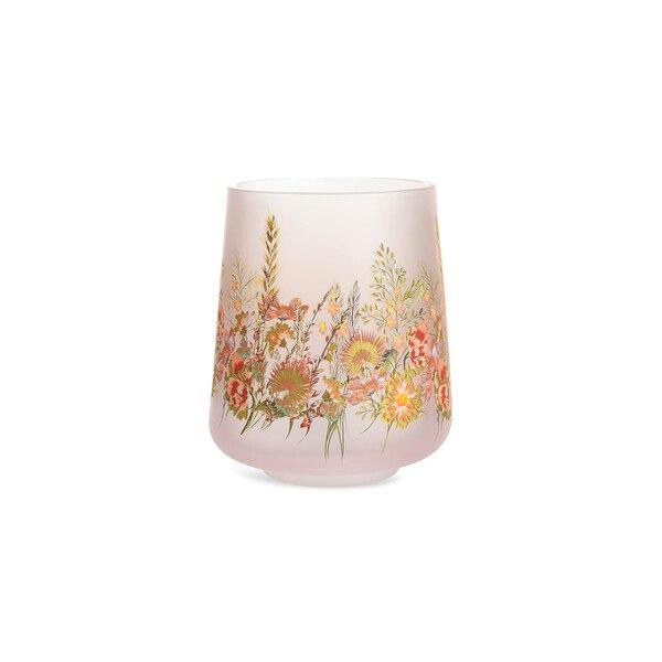Teelicht Flowerly, bunt